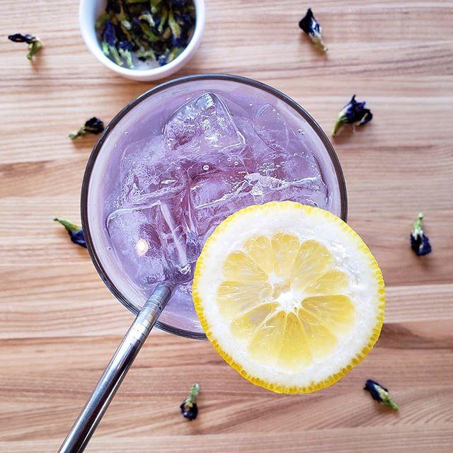 Non-alcoholic refreshments don't have to be boring! Celebrate Sober September with Jinx Tea.  #soberseptember #sobercurious #jinxtea #lindenhills #minneapolis #ultraviolet #nohangover