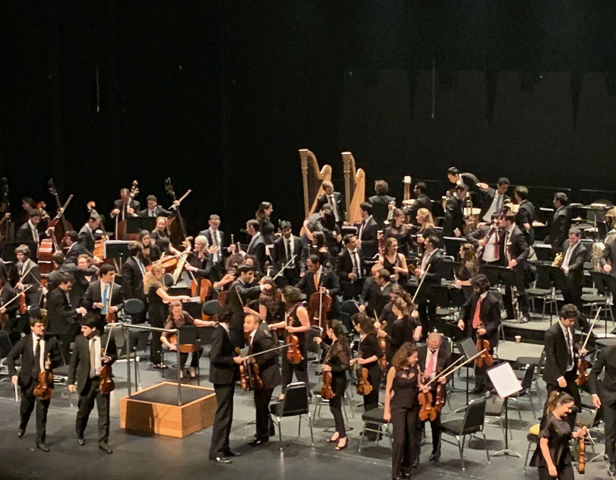 Music connects cultures. The West-Eastern Divan Orchestra builds understanding amongst Arabs and Israelis through music.