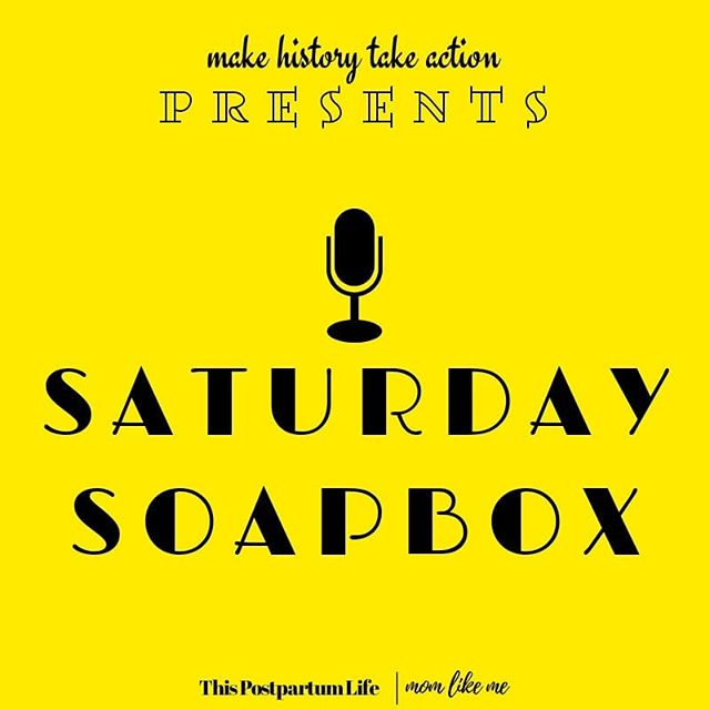 ANNOUNCING 🔈🔉🔊SATURDAY SOAPBOX.  Every first Saturday of every month we go LIVE here on Instagram, taking a trip back to the past to uncover how we've gotten here and where we need to go next! A huge part of taking action is getting educated on where we've been. By learning the past we can change the pattern and disrupt the cycle.  MARK YOUR CALENDARS and join the conversation!  CHECK OUT OUR STORIES TO VOTE ON A TIME.