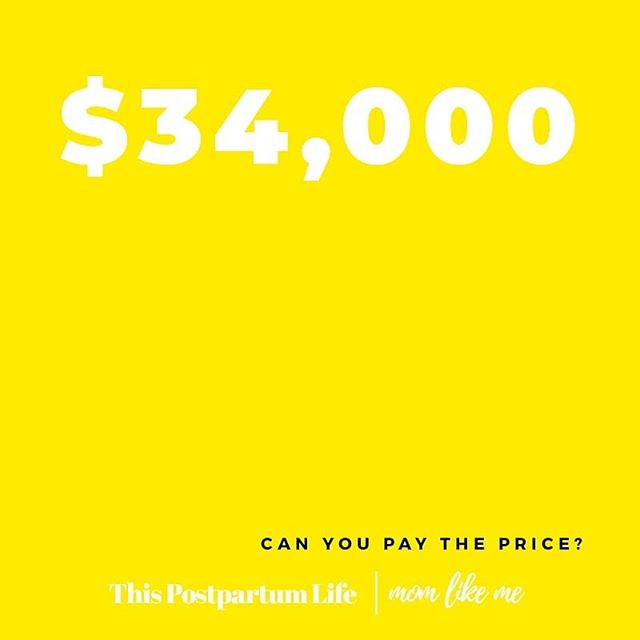 Join  @this_postpartum_life  and  @findamomlikeme  RIGHT HERE on  Saturday June 1st at  7pm EST/4PM PST  OR  8pm EST/5pm PST  to take about the postpartum price we are paying (or not). Tell us what time you prefer 👇👇👇