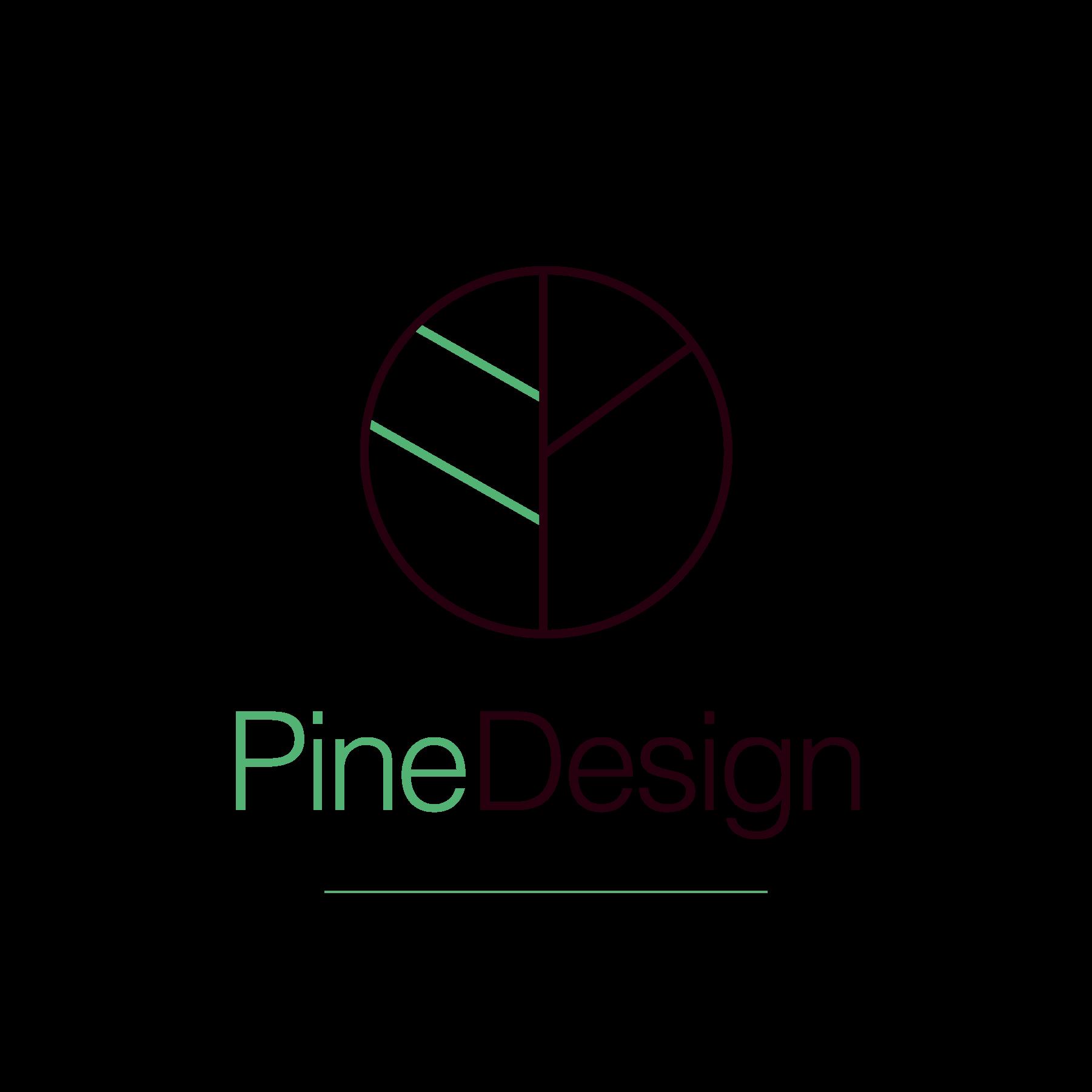 Pine Design Primary Logo