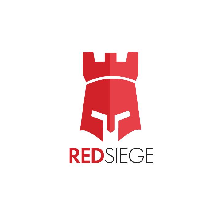 Red Siege Vertical Logo