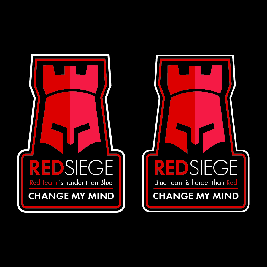 "Red Siege ""Change My Mind"" Stickers"