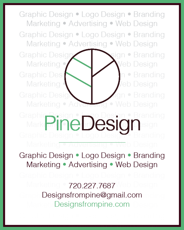 Pine Design Newspaper Advertisement.