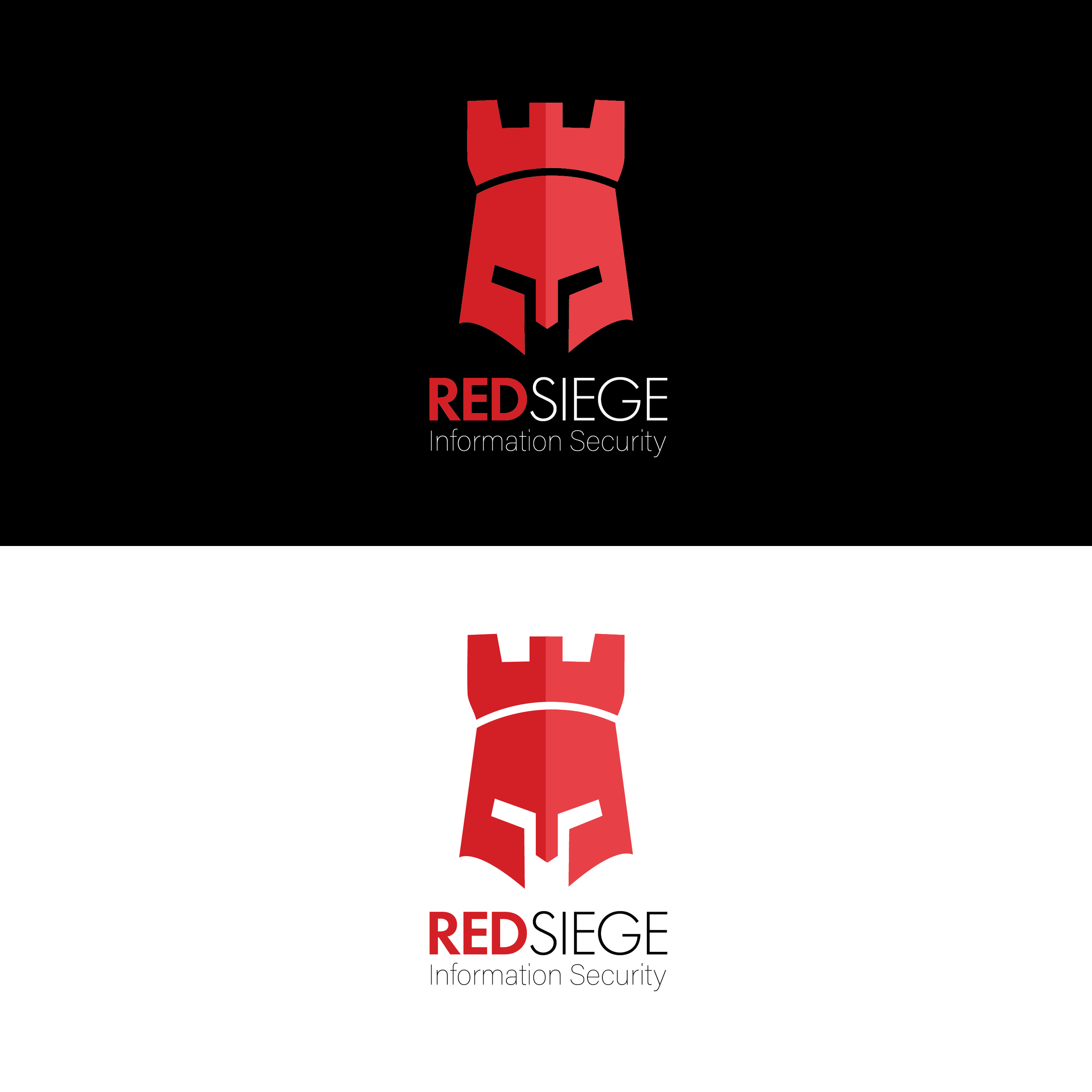 Red Siege Vertical Primary Logo.
