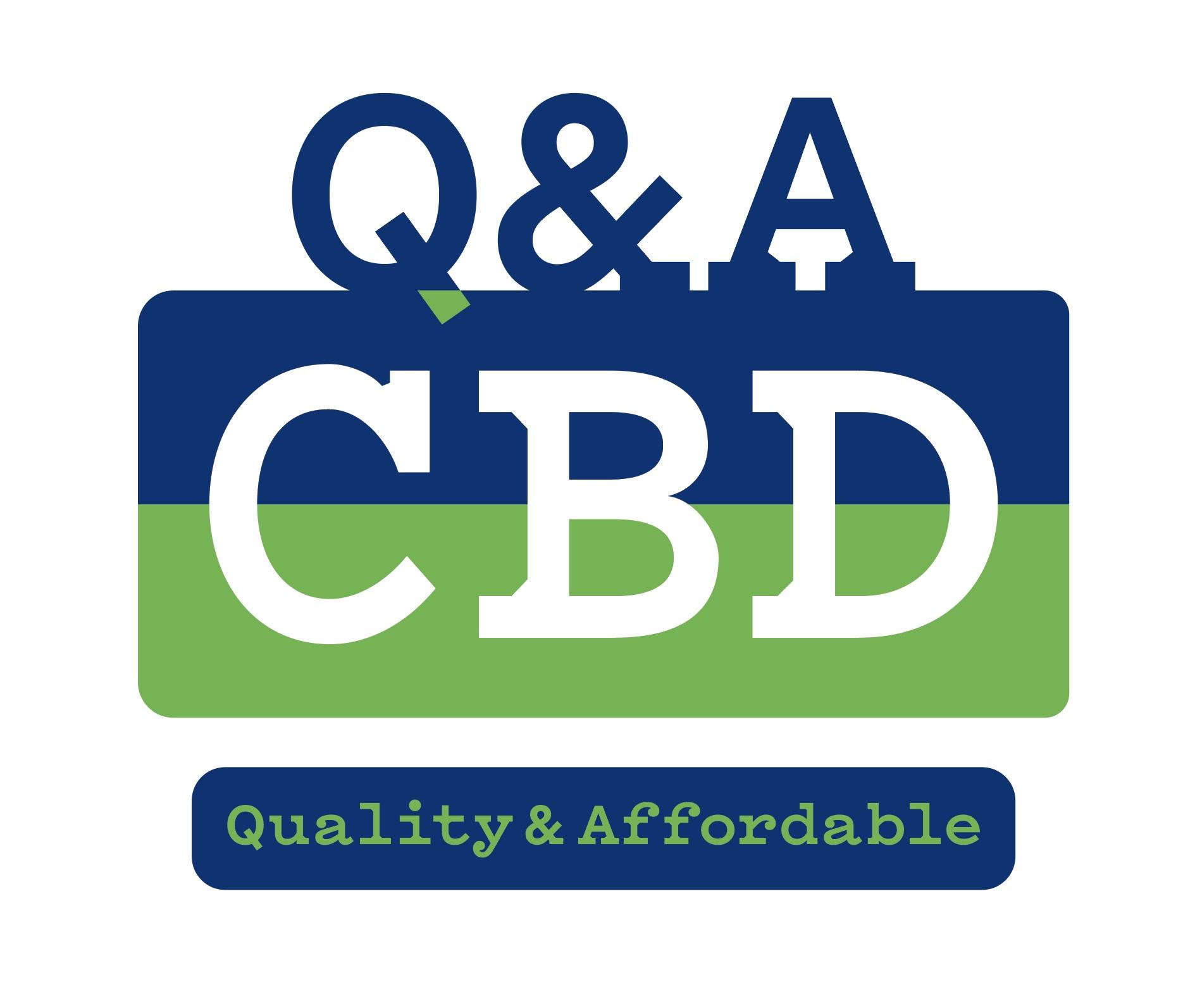Q&A CBD Logo Design