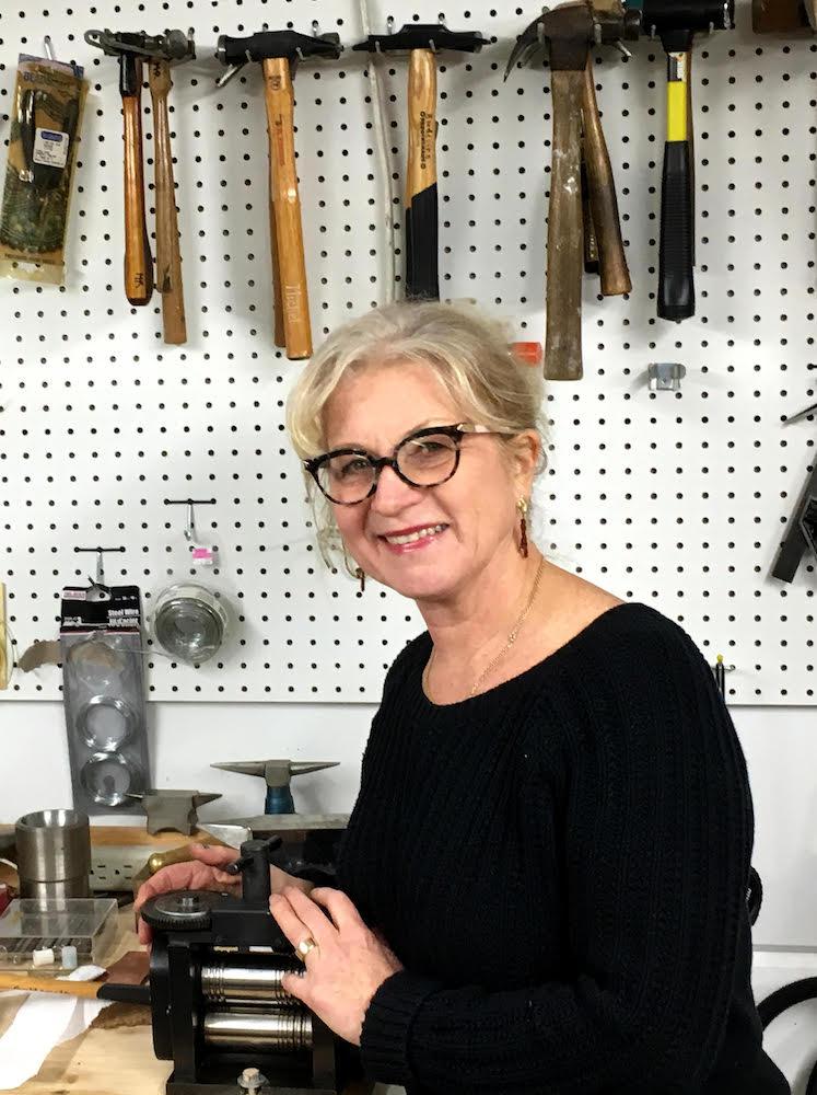 Marie-Helene Rake in studio 1000.jpeg