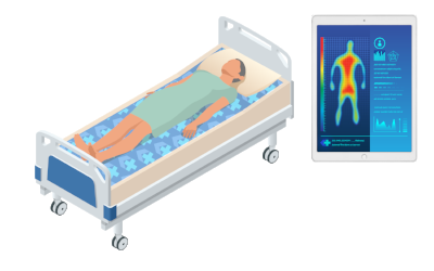 Pressure Injuries Technology graphic