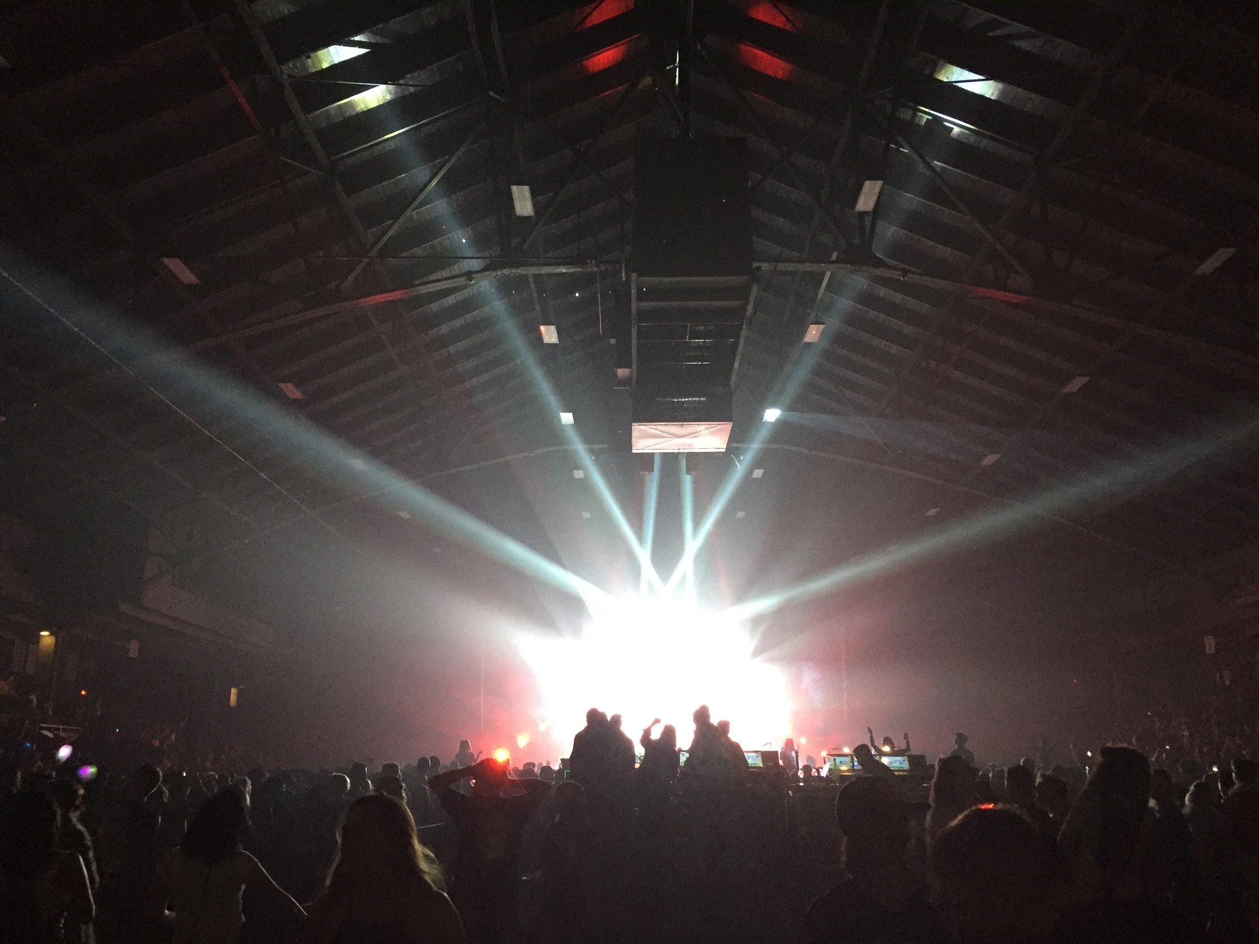 A Sweaty Night at the PNE Forum