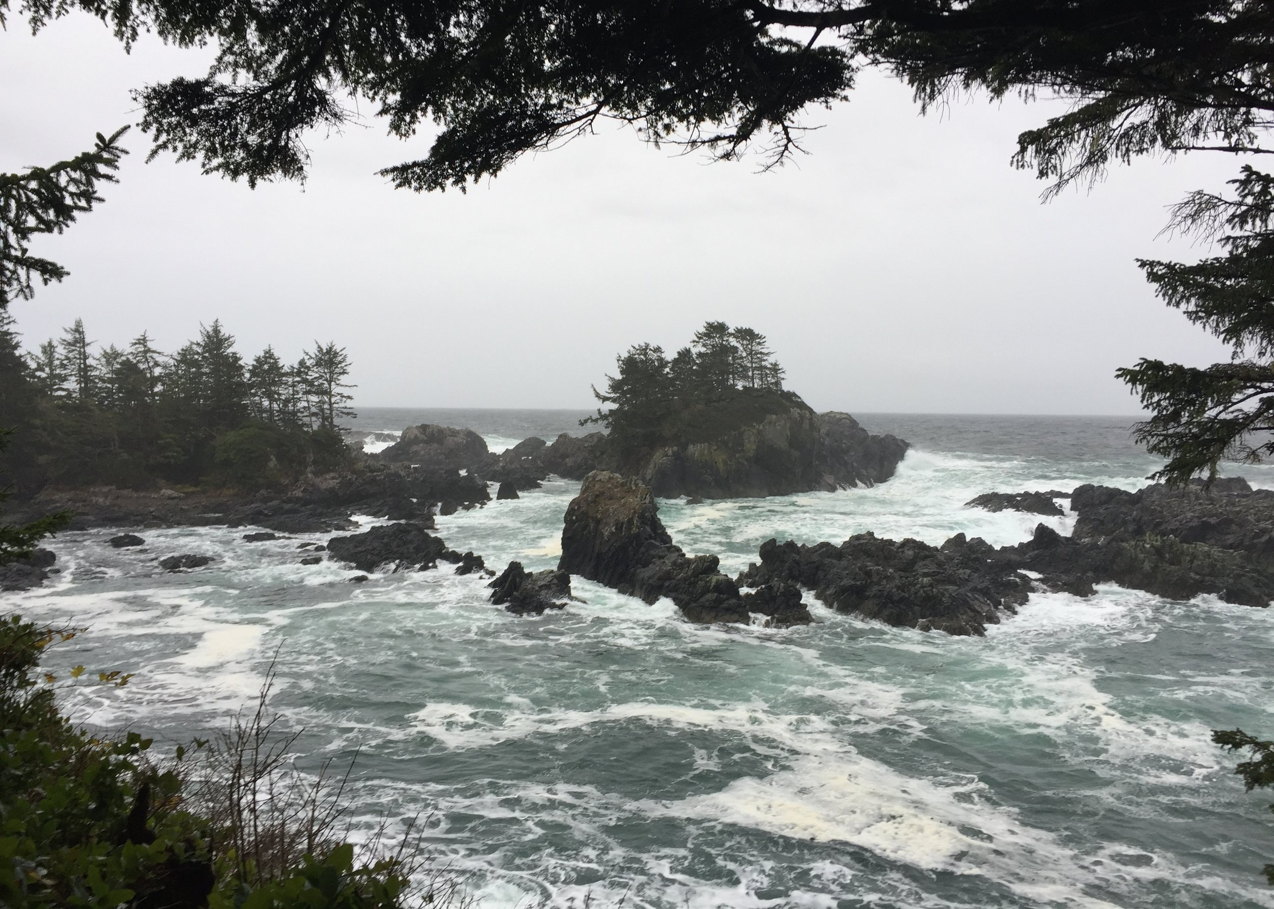 The Stormy Coat Line Of Tofino