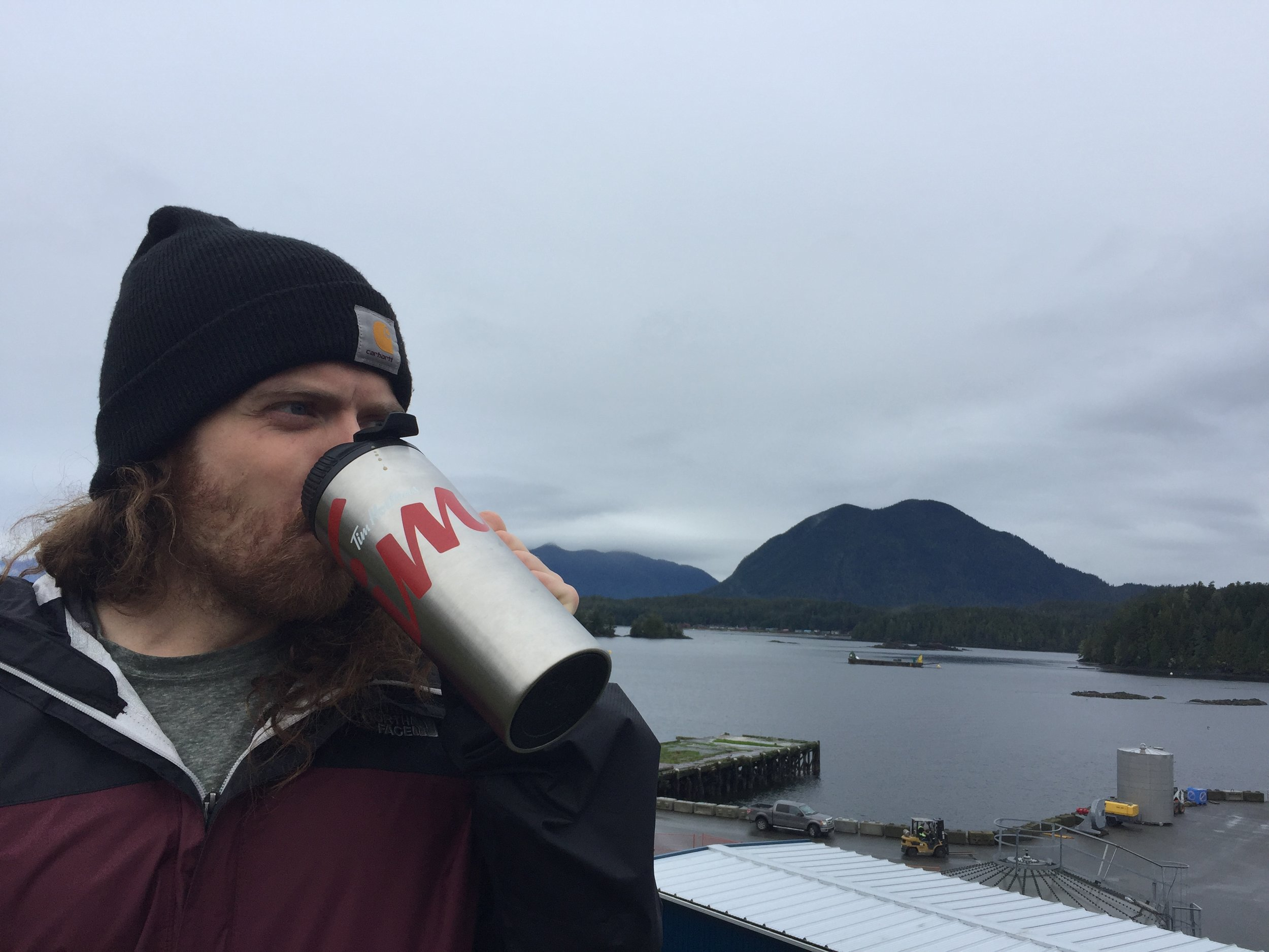 Sustainably drinking Timmys