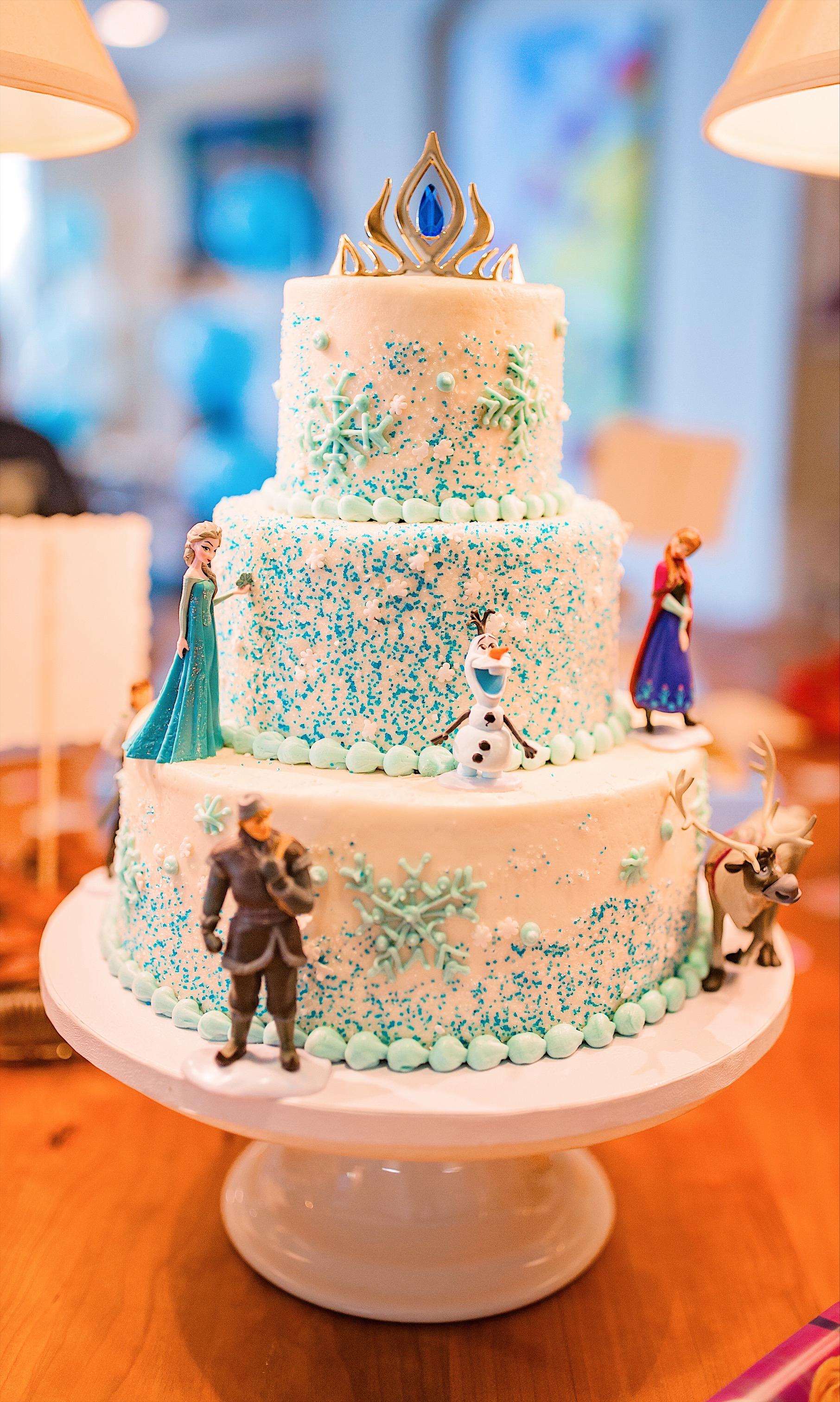 jemma's birthday cake susiecakes frozen