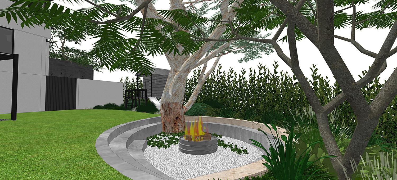 Image of: City Beach Perth Landscape Design Project Landscaping Design Perth De Vries Designs