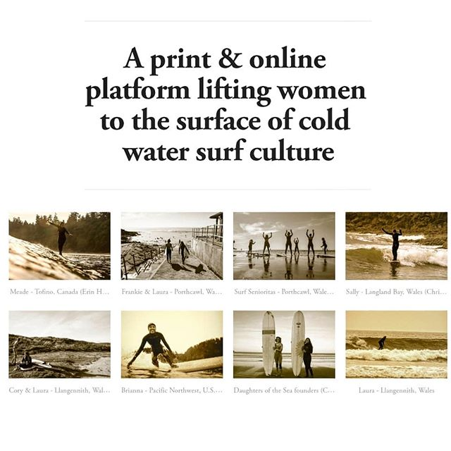 We now have over 1000 followers! 🎉 Thank you & welcome to all of our new followers. We are Daughters of the Sea; a platform for cold water women all over the world! Please head over to our website www.daughtersofthesea.org to read our #ColdWaterWomenSeries & #GroundSwellSeries. We recently tested out our preview edition & are working on getting our first edition out this Autumn. Please stay tuned & tag us in your surf & swim posts to be featured on our story & hard copy! If you're interested in contributing to the mag, email us on seadaughterswales@gmail.com 🌊