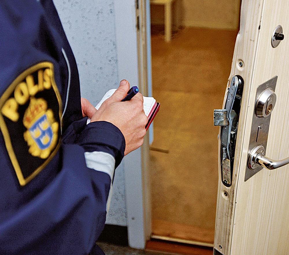 """En anledning till ökningar inbrott kan vara att mer organiserade inbrott med """"ligor"""" blivit mer vanligt."""