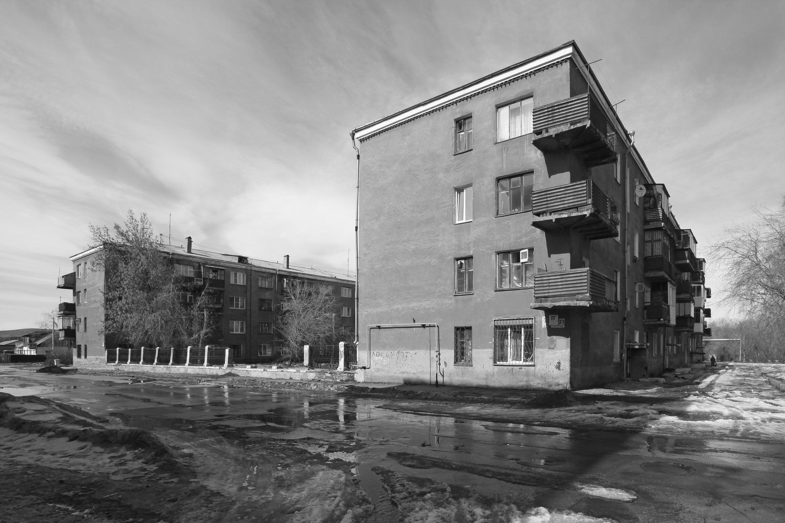 """Residental Building """"Pionerskaja"""""""