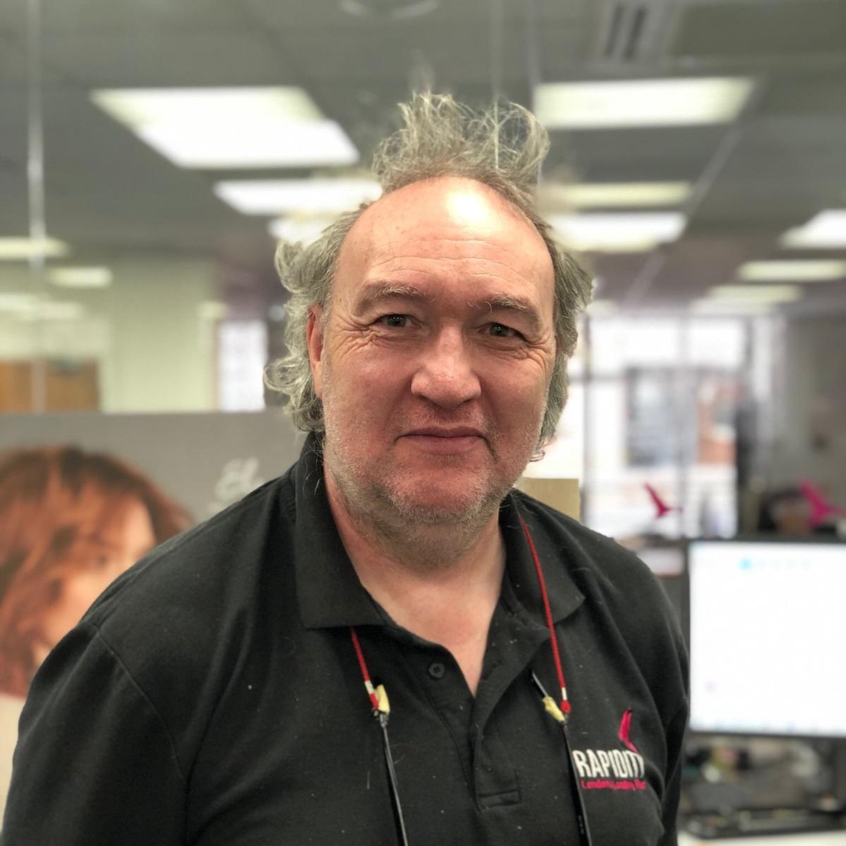 Alan Benson    Display Operator