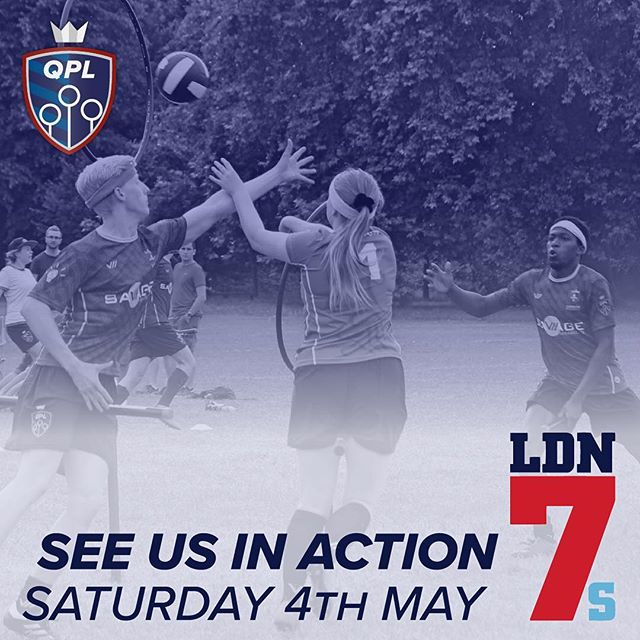Some of our players will be at @ldn7s at @chiswick_rfc tomorrow showing off the sport and having fun in the sun! Hope to see you there!  #quidditch #LDN7s #rugby #London #Chiswick #sport