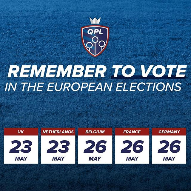 Don't forget to vote over the next few days in the #EUelections2019, whatever your views - make your voice heard!  #elections #vote #europe #EUelections
