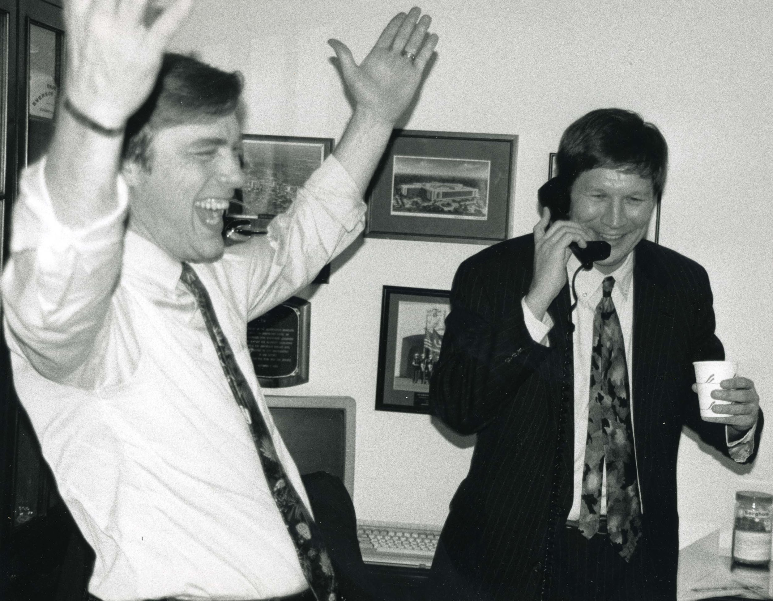 In 1993, then Cong. John Kasich teamed with Democrat Cong. Tim Penny to propose the Penny-Kasich Deficit Reduction Amendment. Though it was defeated, this was an important step on the path to a balanced federal budget.
