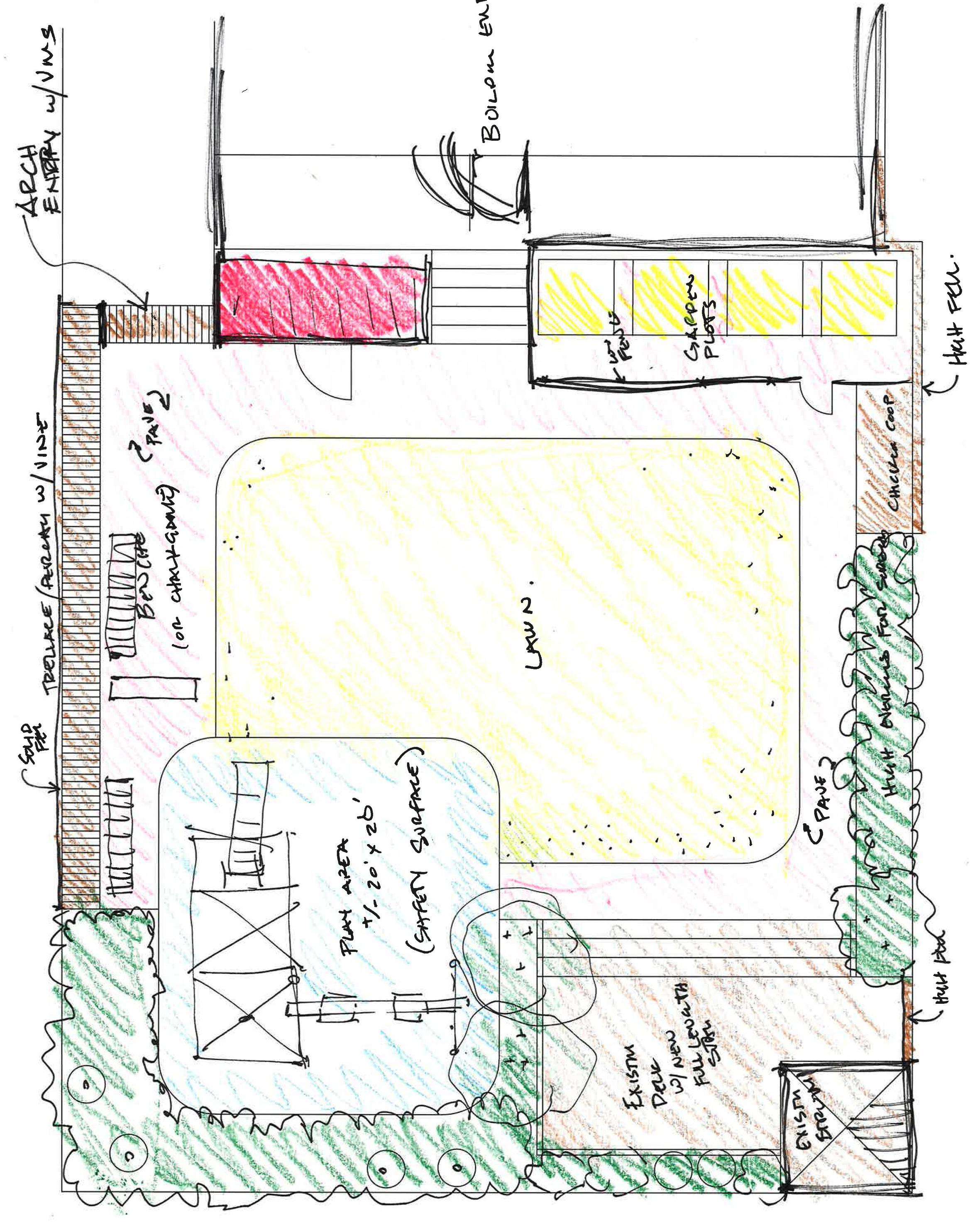 Concept Development Sketch