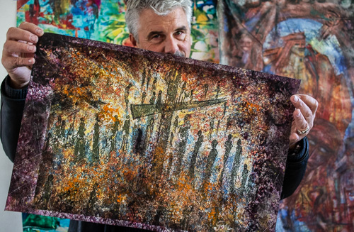 Jarl-Goli-Painter-Noregian-Jarl-Goli-Gallery-JarlGoliArtWorks-4Peace-11-Photographer-Nelly-del-Arbo.jpg
