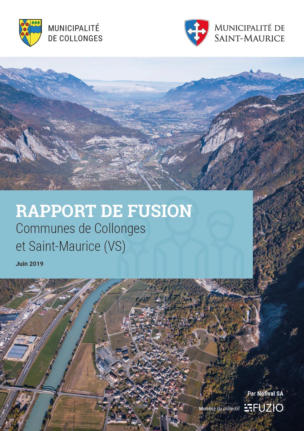 Rapport de fusion