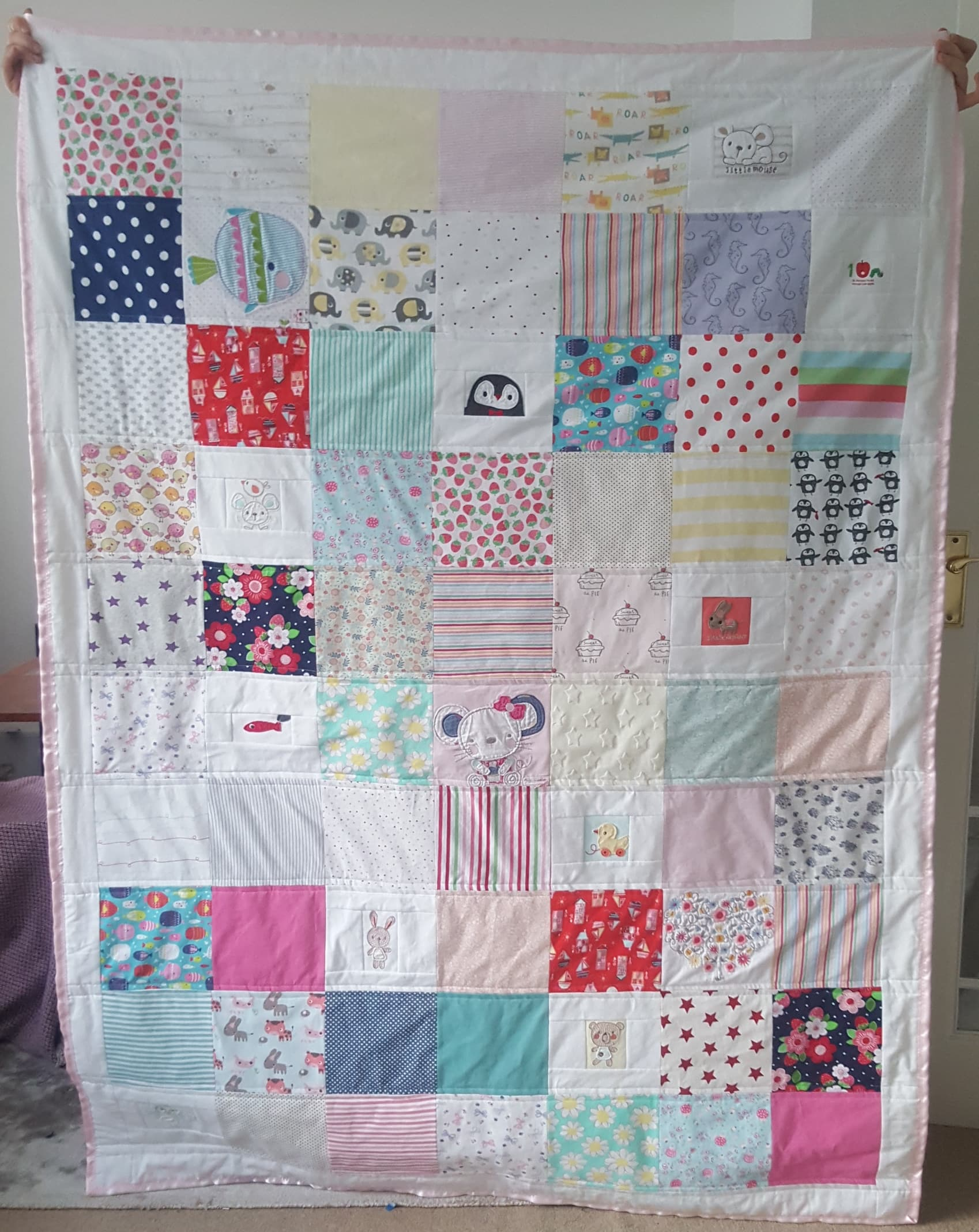 The finished quilt!