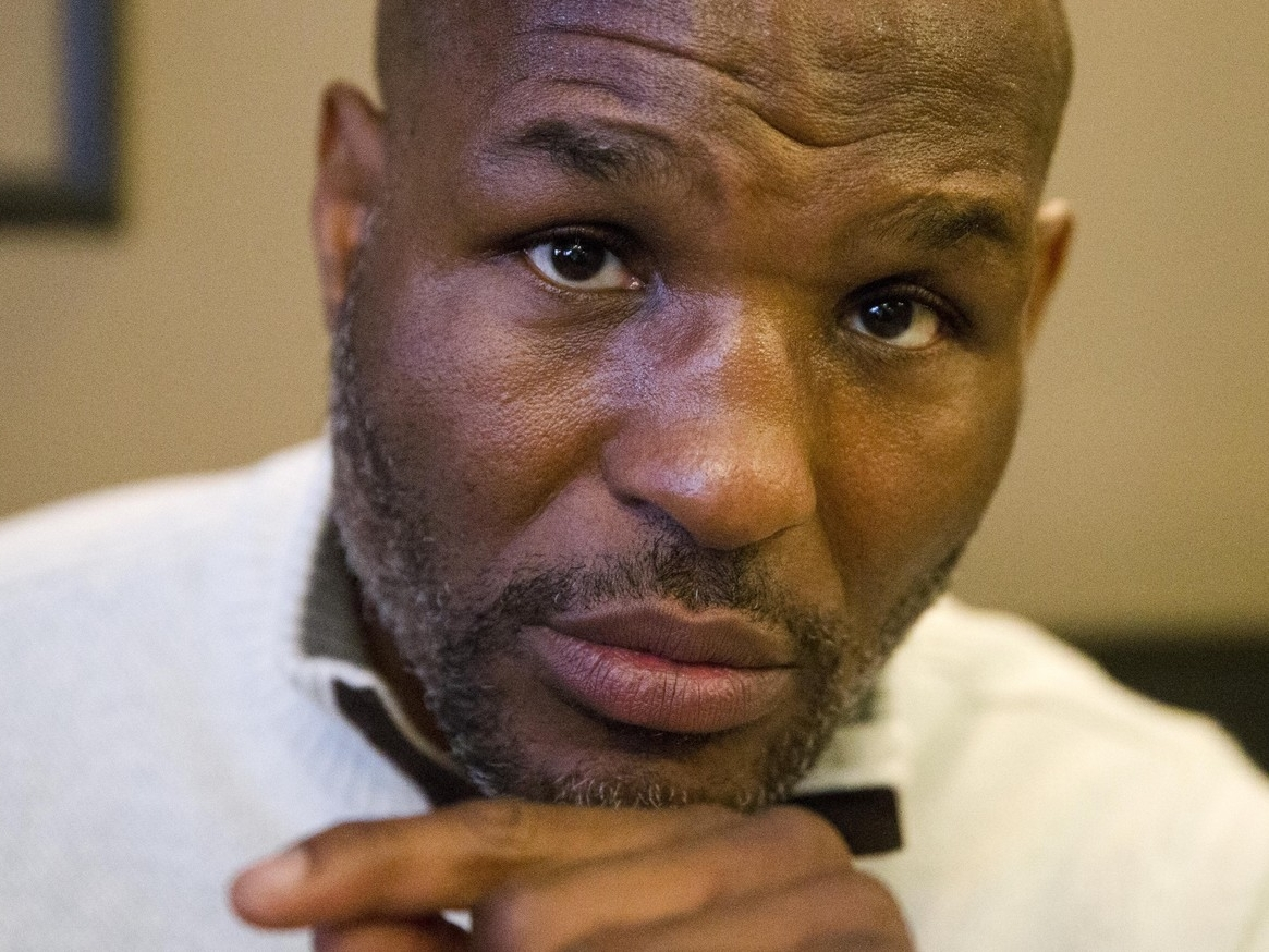 """Bernard Hopkins   The WorkShop is producing a documentary featuring boxing legend Bernard Hopkins and his relationship with coach """"Smokey"""" Wilson."""