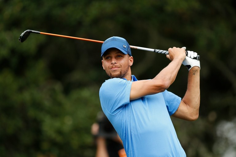 Stephen Curry   Stephen Curry fixed his timing with the help of Hank Haney on Golf Digest's 5 Minute Fix.