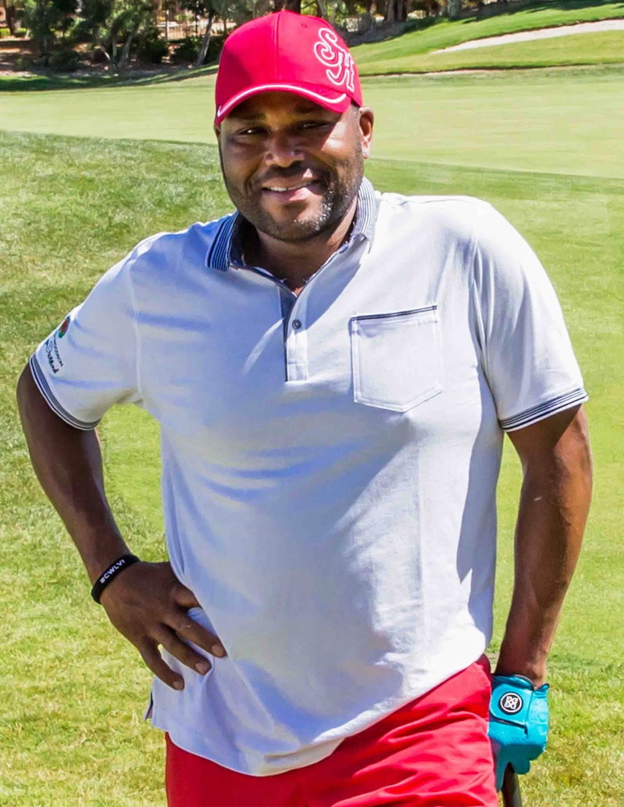 Anthony Anderson   Anthony Anderson served as the host of Golf in America, a series we produced for The Golf Channel.