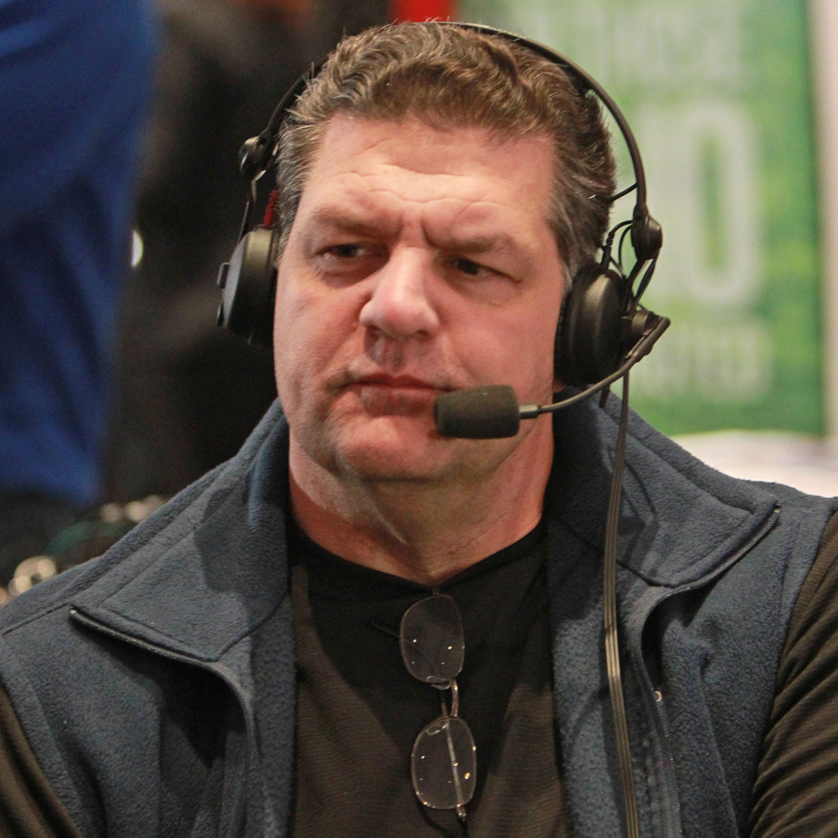 Mike Golic   Mike Golic hosted a Nationally Syndocated Sports Show that our CEO Tom Farrell was the showrunner for.