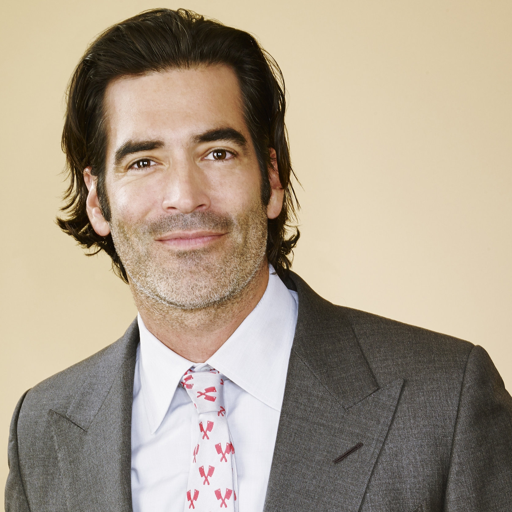 Carter Oosterhouse   Oosterhouse became a star as a carpenter on TLC's Trading Spaces in the mid 2000s and once again returned with the original cast for the reboot of the show this year.