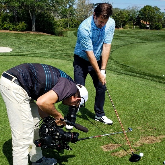Sir Nick Faldo   We produced a special starring the 6-time Major Champion on his life after being on tour.