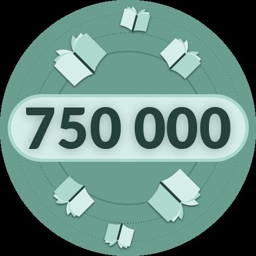 über 750.000 Exemplare pro Jahr -