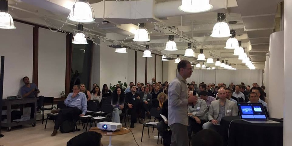 JFE Israeli Series A Pitch Event, NYC, 2016
