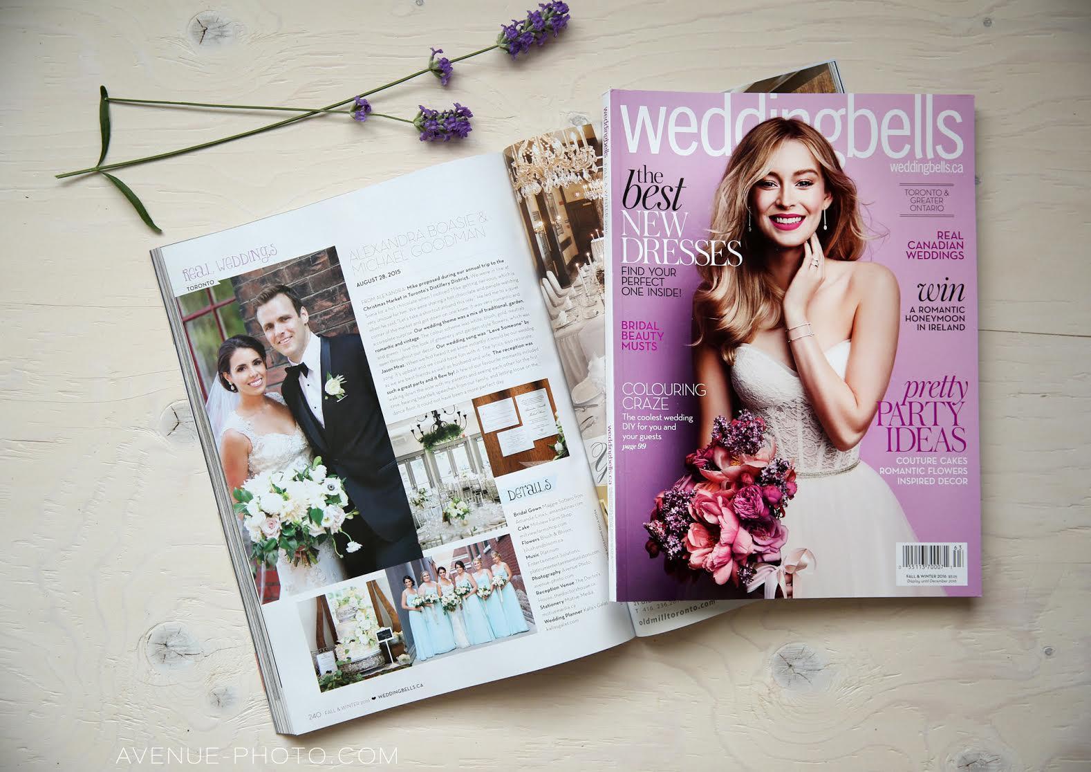 A&M WEDDING - Weddingbells Fall/Winter 2016