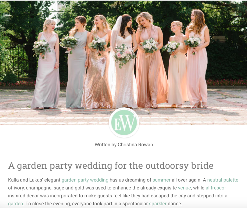 K&L WEDDING - Elegant Wedding 2018