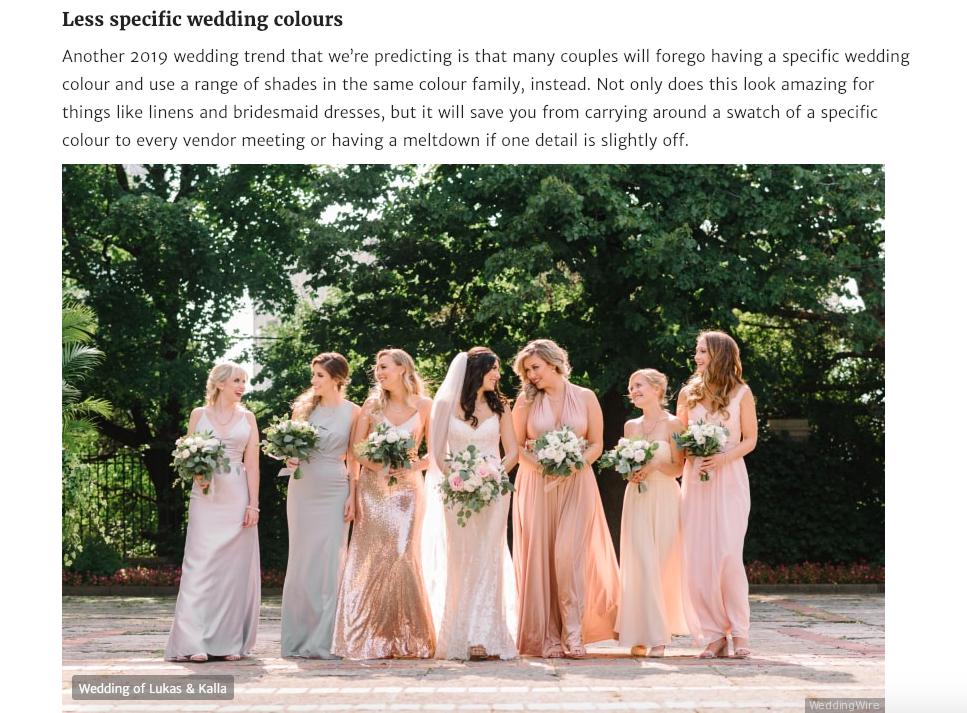 K&L WEDDING - Wedding Wire 2018