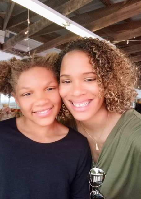 Jori and her beautiful birth daughter