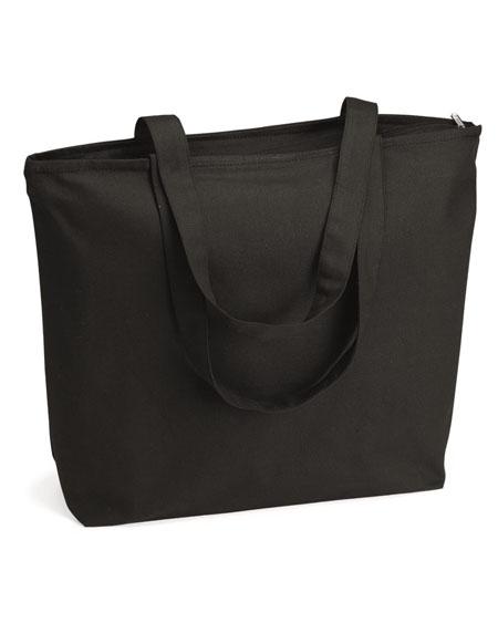 Q-Tees Zippered Bag.JPG