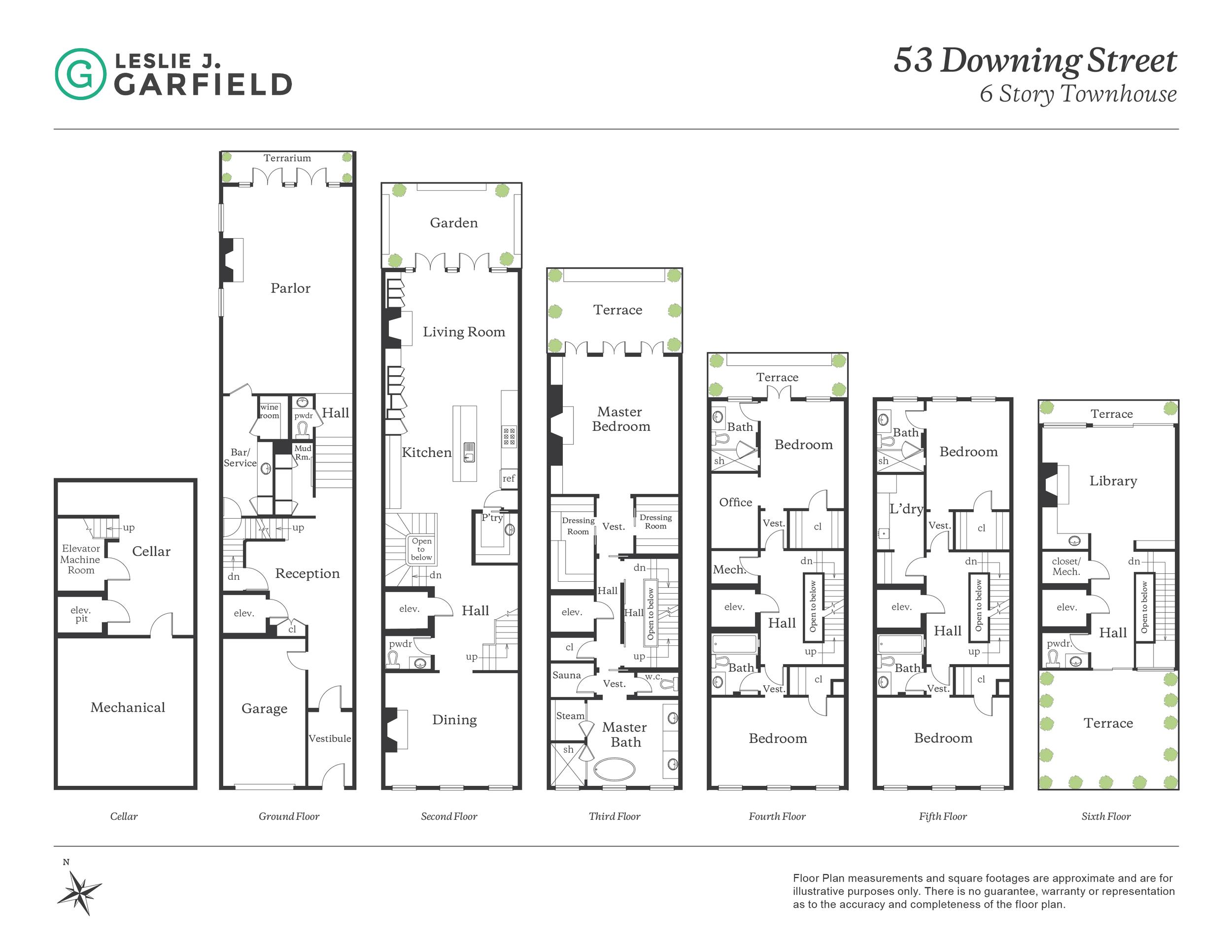 The Floorplan 53 Downing Street