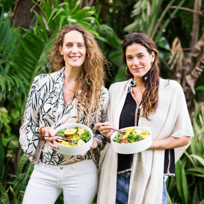 Sesiones personalizadas de coaching de alimentación. Vegan Nutrition coach in Miami Celia Herrero y Maria Recio. Focusing on a healthy lifestyle and diet, clean eating, weight loss, organic food.