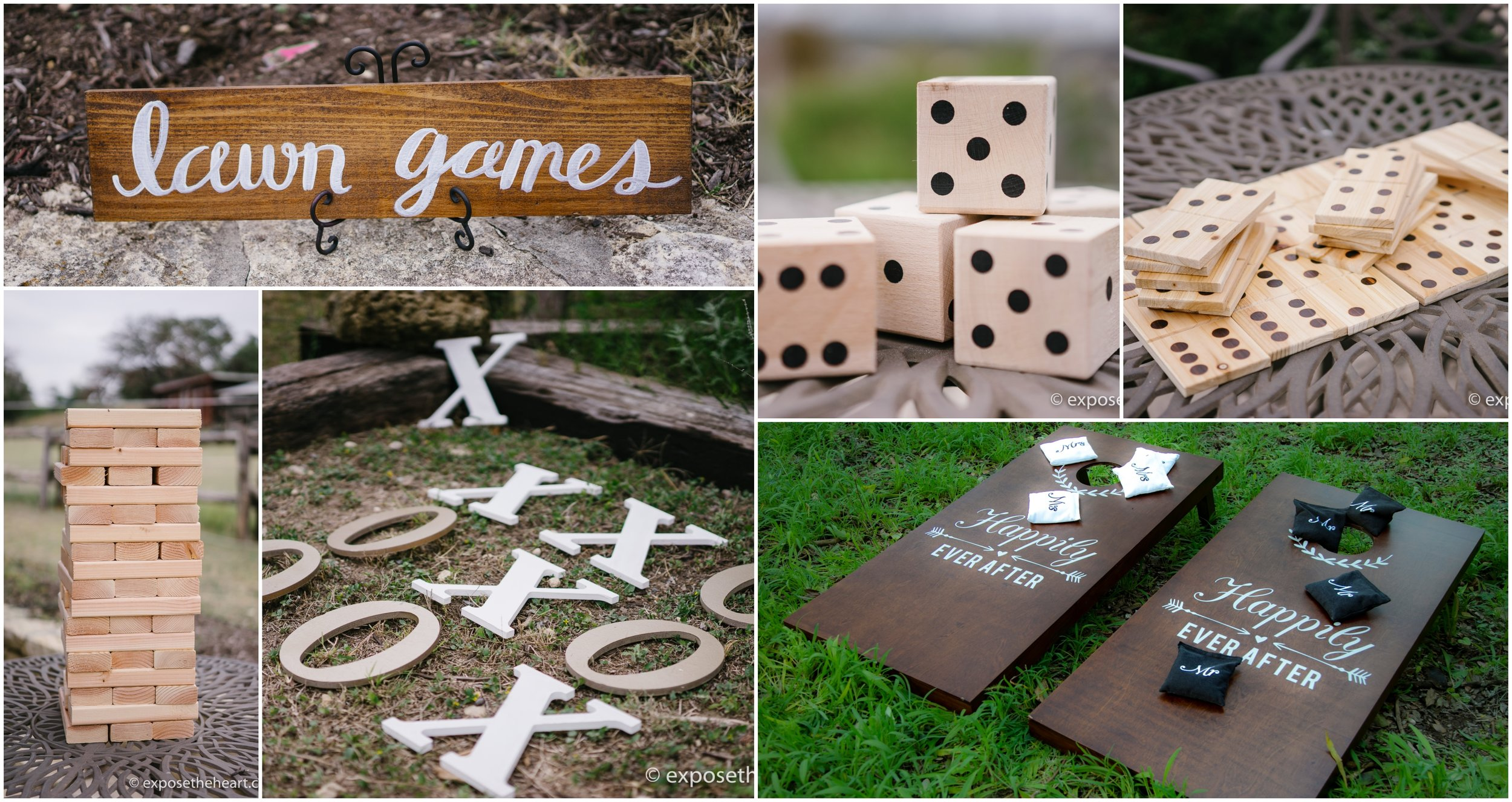 Lawn Game Package   Includes: All Lawn Games   Cost: $125.00