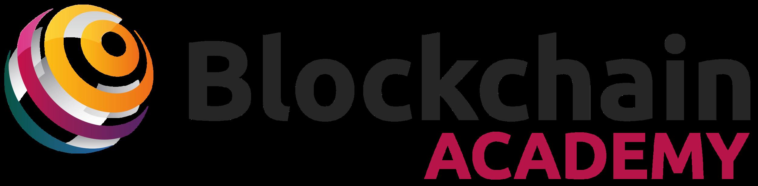 Logo - Blockchain Academy - Dark with Globe.png