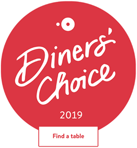 Open Table 2019 Diners' Choice Award