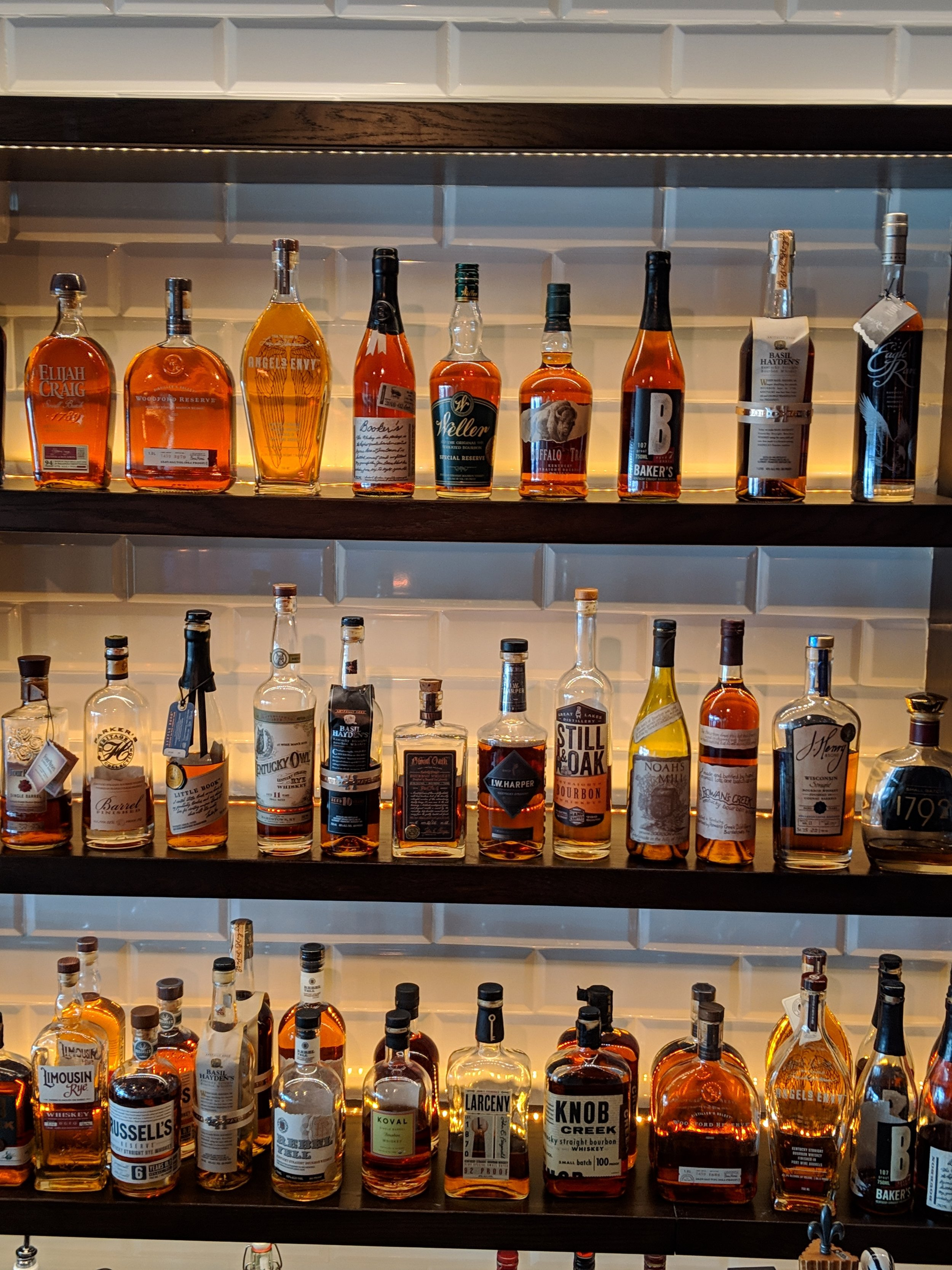 Weekly Whiskey Specials on Wednesday at East Town Kitchen & Bar