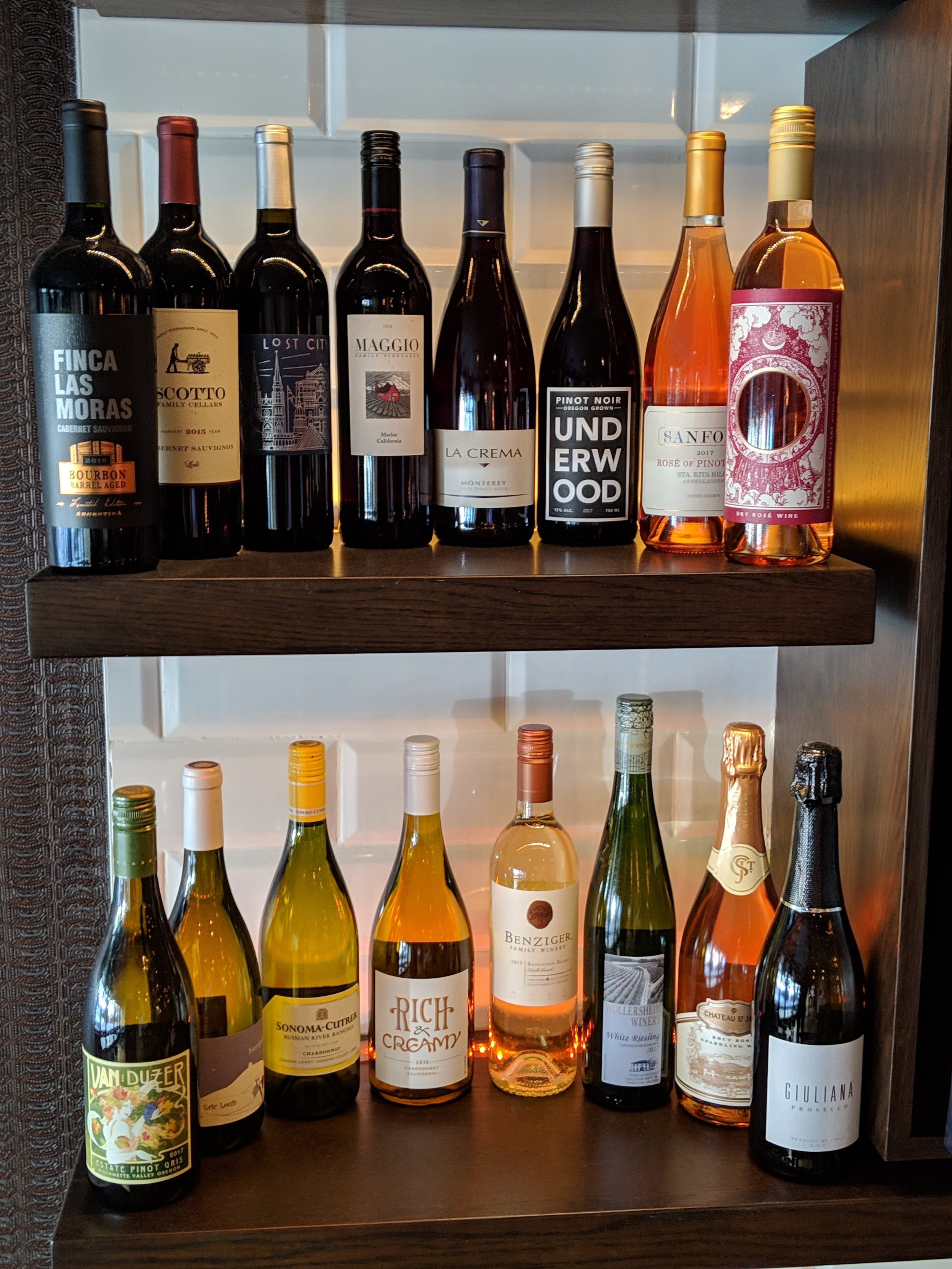 Half off bottles of wine on Mondays at East Town Kitchen & Bar