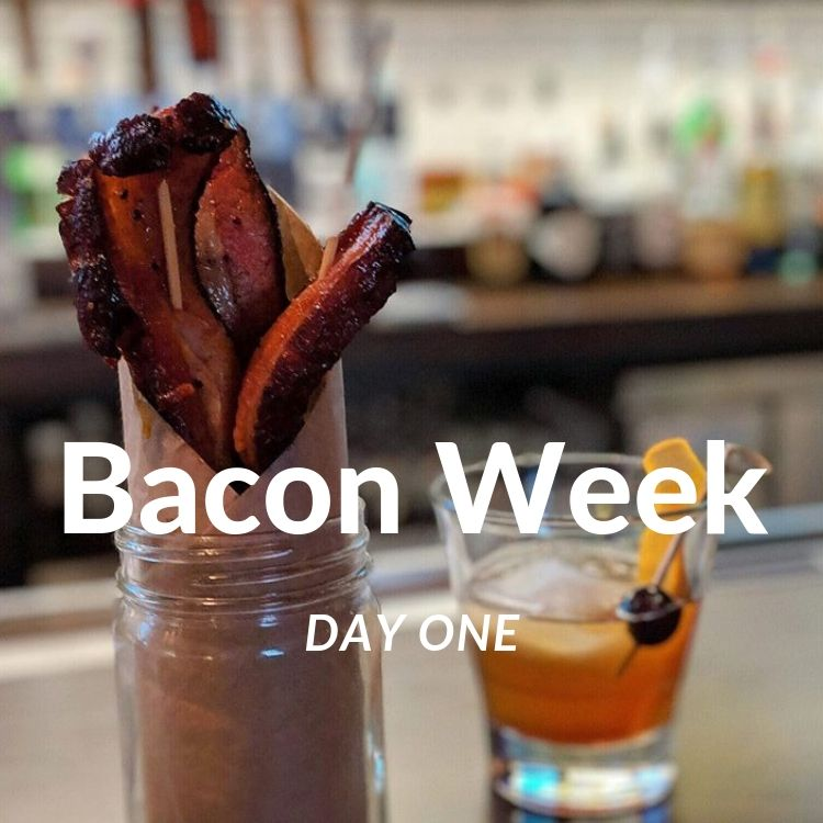 Bacon Week Day One - Bacon Jar & Old Fashioned