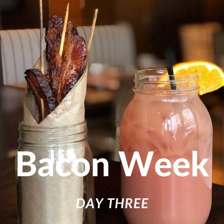 Bacon Week Day Three - Bacon Jar & Big Grapefruit Mimosa